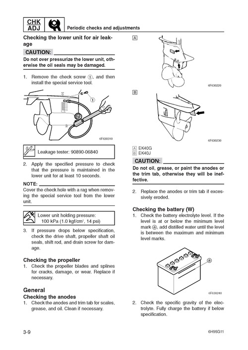 Product picture Yamaha Onboard Motor (2-4 Stroke) 2005 Workshop Repair & Service Manual [COMPLETE & INFORMATIVE for DIY REPAIR] ☆ ☆ ☆ ☆ ☆